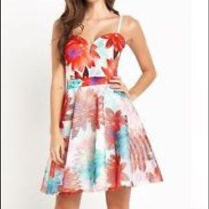 Lipsy Floral Skater dress